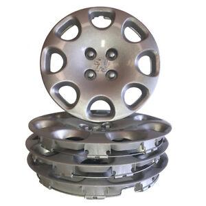 "15"" Peugeot Wheel Trims Trim Hub Caps Covers 308 207 Bipper Partner Van QTY 4"