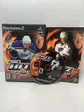 NHL Hitz 2003 (Sony PlayStation 2, 2003) PS2 GAME COMPLETE w/MANUAL BLACK LABEL