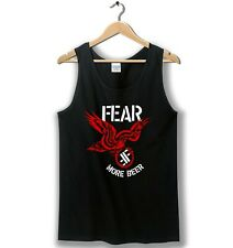 Fear More Beer - Tanktop Tee Black All Size