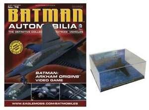 AUTOMOBILIA 1/43 BATMAN ARKHAM ORIGINS VIDEO GAME BATWING (MODEL ONLY)