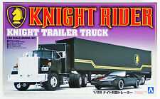 Aoshima 30660 Knight Rider Trailer Truck 1/28 scale kit