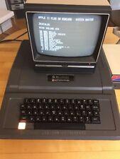 Bell & Howell Vintage Apple II Computer w/ Sanyo VM 4509 Monitor - Darth Vader