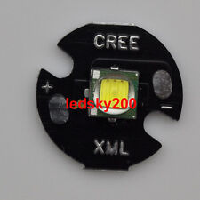Top 10w Cree Single-Die XM-L T6 LED White 6000k Chip 16mm Round Base for DIY