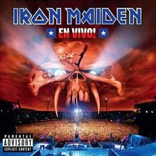 Iron Maiden En Vivo! [PA] 2-CD NM