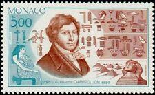 """MONACO N° 1740 """"JEAN FRANCOIS CHAMPOLLION, PORTRAIT""""xxTTB"""
