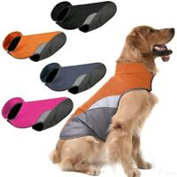 Waterproof Pet Dog Puppy Vest Jacket Warm Winter Dogs Clothes Rain Coat Outdoor