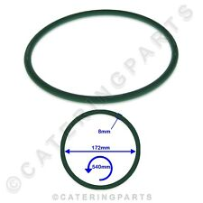 More details for pizza group 5070200 green pizza dough roller stretcher drive belt 172x540x8mm