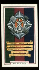 Tobacco Card, Gallaher, ARMY BADGES, 1939, The Royal Scots, #27