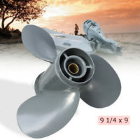 9 1/4 x 9 Aluminum Propeller For Honda Outboard 8 9.9 15 20 hp  -*