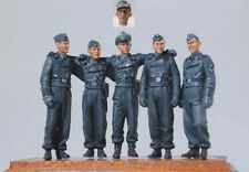 1/35 Scale World War II Michael Wittmann and Crew Resin Model Kit (5 Figures)