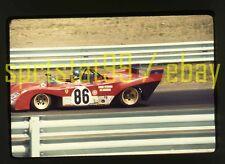 1972 Ronnie Peterson #86 Ferrari 312 - Watkins Glen 6 Hrs - Orig 35mm Race Slide