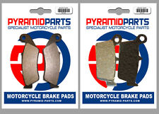 Front & Rear Brake Pads for Honda CRF230 L 08-10 / M (Supermoto) 09-10
