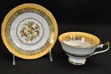 Elizabethan Versailles Hand Decorated Cup & Saucer