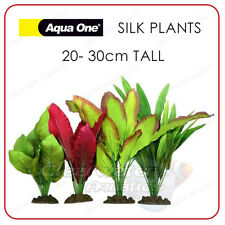 4 pack aquarium soie plantes artificiel fish tank décor plastique souple décoration