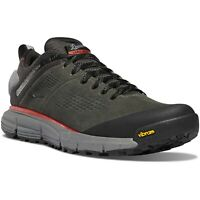 "Danner Men's Trail 2650 3"" GTX Hiker/Trainer Shoes 61200 - Dark Gray/Brick Red"