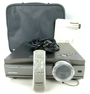 Panasonic LCD Projector High Definition With Remote And Case PT-L500U