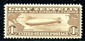 U.S. Scott C14 MNH VF $1.30 Graf Zeppelin