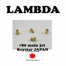 Main Jet #80 Keystar (Made in Japan) for Honda CT110 Postie Bikes