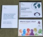 EYFS 2021 Development Matters & 2021 Statutory Framework & What To Expect