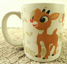 Rudolph The Red-Nosed Reindeer Coffee Mug Cup Abominable Snowman Bumble 2010
