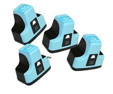 4 PK for HP Printers HP02 LIGHT CYAN Ink Set 3310 C5180 C6180 C6280 C7180 C8180
