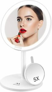 Vanity Mirror with Lights 5X Magnifying LED Lighted Makeup Mirror Illuminated