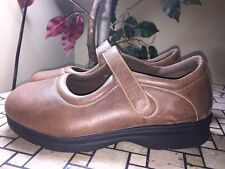 PED RX by Propet WPRX07 EVE WALKER Mary Jane Brown Orthotic Shoes Womens Size 11
