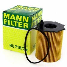 MANN Ölfilter HU7162X Filter Citroen Fiat Ford Mini Peugeot Suzuki Toyota Volvo