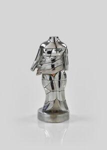 MIGUEL BERROCAL - Mini Cariatide Nickel Plated Puzzle Sculpture 1968 - 69