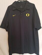 Nike Oregon Ducks Men's XL Fit Dry Performance Polo Shirt Back Football
