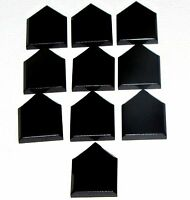 Lego New Black Minifig Utensil Wand 2 on Sprue Pieces Parts