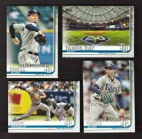 2019 Topps Series 1 2 & Update TAMPA BAY RAYS  Team Set 29 Cards
