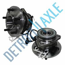 Both (2) New FRONT Left and Right Wheel Hub and Bearing Assembly w/ ABS AWD ONLY