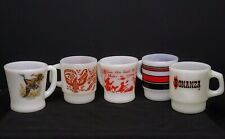 Fire King Milk Glass Mug Lot of 5