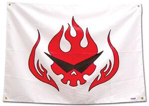 *Legit Poster* Gurren Lagann Anime Team Dai-Gurren Symbol Logo Fabric Flag #8309