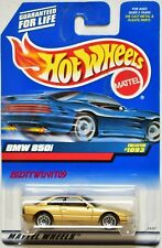 HOT WHEELS 1999 BMW 850I #1093 GOLD