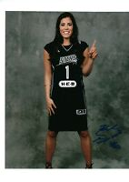 KELSEY PLUM AUTO AUTOGRAPHED 8X10 PHOTO SIGNED W/COA PROOF LAS VEGAS ACES 2