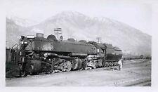 7F628 RP 1940s/50s UNION PACIFIC RAILROAD ENGINE #3525 PROVO UTAH