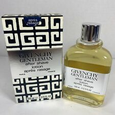 Vintage Givenchy Gentleman 109ml, 3 2/3 FL.OZ Aftershave Après Rasage Réf 7406