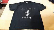 Vintage very rare 2000s The Gasoline Holocaust Hardcore Rock T Shirt Black