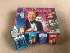 More details for paul daniels magic set 100 rare svengali cards and trick decks tv magic 1980s