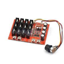 10 50v Dc Motor Speed Control Pwm Hho Rc Controller 12v 24v 48v 3000w 60a Max