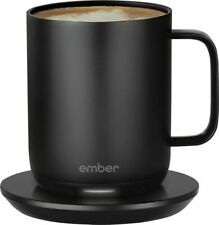 Ember 10oz Temperature Control Smart Mug 2 - Black - New, Free Shipping