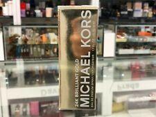 24K BRILLIANT GOLD BY MICHAEL KORS EAU DE PARFUM SPRAY 50 ML COMPANY SEALED