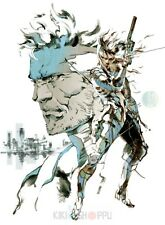 Poster A3 The Art Of Metal Gear Solid V The Phantom Pain Videogame Videojuego 01