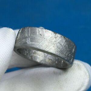 meteorite muonionalusta ring amulet iron-nickel JZB0161 pendant inner-19.7mm