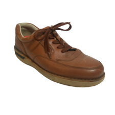 Cabela Men's Leather Tan Brown Size 10 82-0641 Casual Athletic Walking Shoes