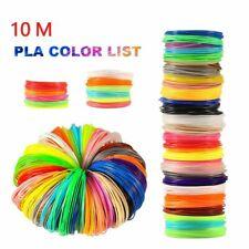 Filament 10M PLA 1.75mm Printing Materials Plastic 3D Printer Refills Drawing