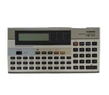 Vintage Casio PB-410 Personal Computer w/Back Up Ram Card System (New!)