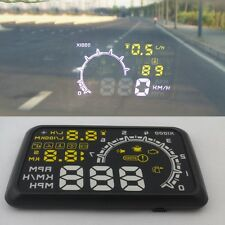 OBD2 HUD W02 LCD Auto Car Interface Overspeed Warning Head Up Display Screen
